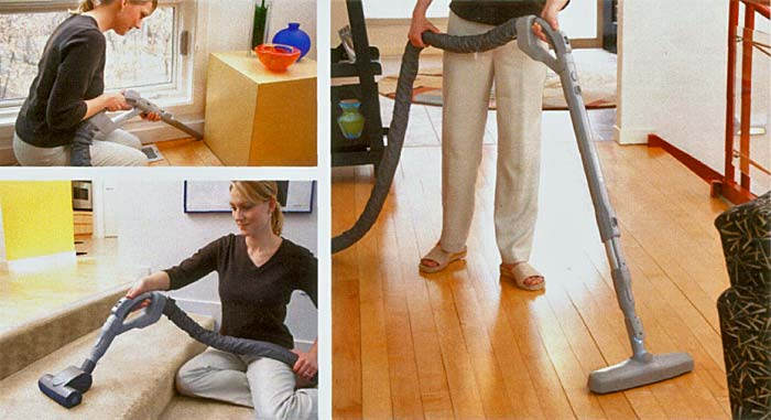 vacuuming convenience